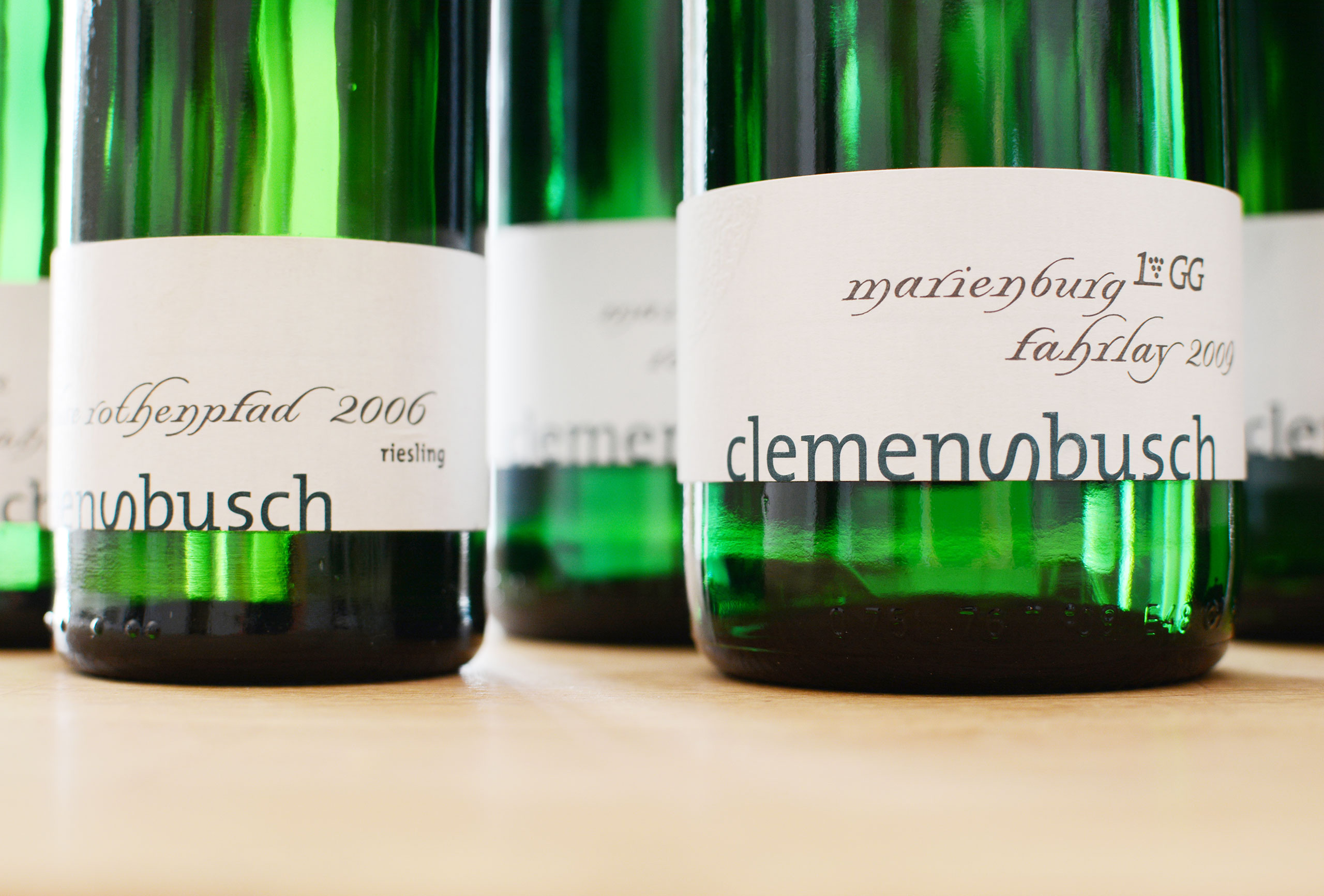 Weingut Clemens Busch, Packaging, Corporate Design